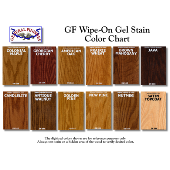 General Finishes Gel Stain Oil Based Brown Mahogany Quart