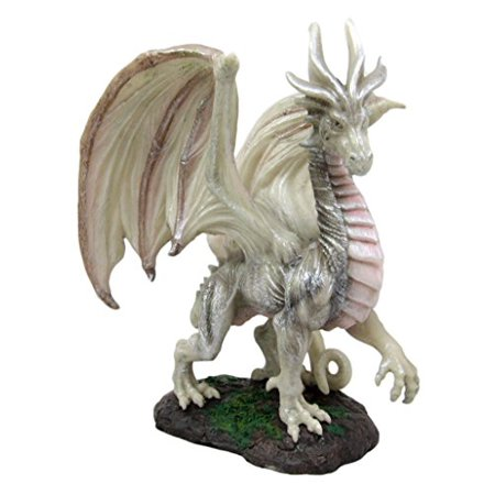 Atlantic Collectibles Mythical Fantasy Battle of Thrones Wise Aged Wraith Hydra Dragon Decorative Figurine 8