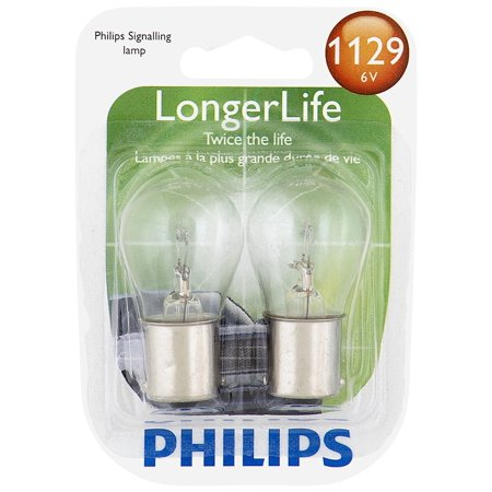 Philips Standard Miniature 1129, Pack of 1