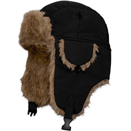 Kingsize Men's Big & Tall Extra Large Fur Trim Hat