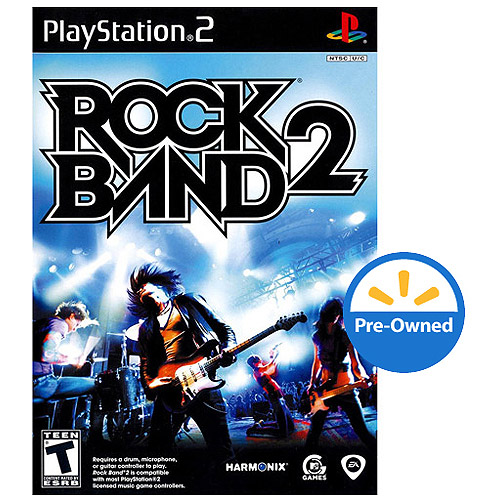 Rock Band 2 (PS2) - Pre-Owned - Game Only