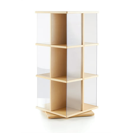 Rotating Book Display 3 Tier (Guidecraft Stacking Bookcase)