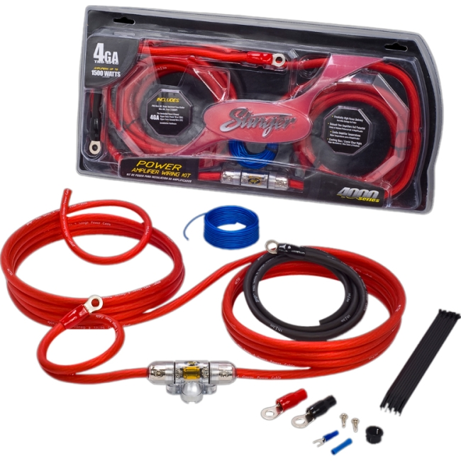 Stinger Amplifier Installation Kit - Car Amplifier (sk4241)