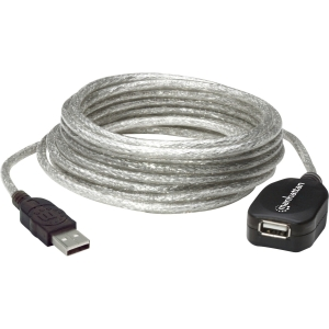 Manhattan 519779 USB 2.0 Active Extension Cable