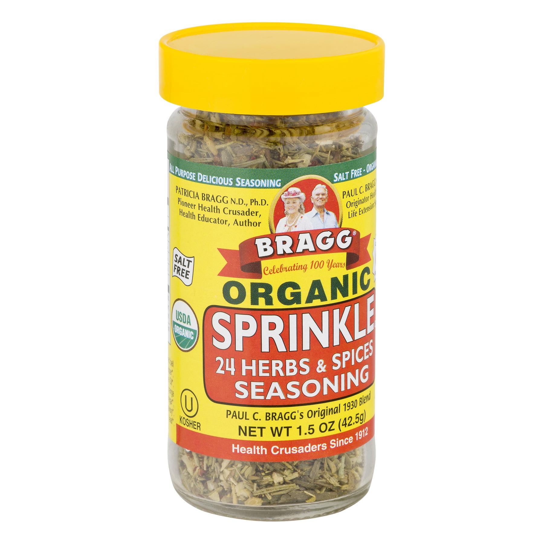 Bragg Organic Sprinkle Seasoning (Non-GMO Certified), 1.5 OZ