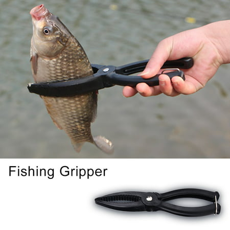 Yosoo Fishing Gripper Gear Tool ABS Grip Tackle Fish Lip Holder Trigger Clamp,Fishing Gripper, Grip Fishing
