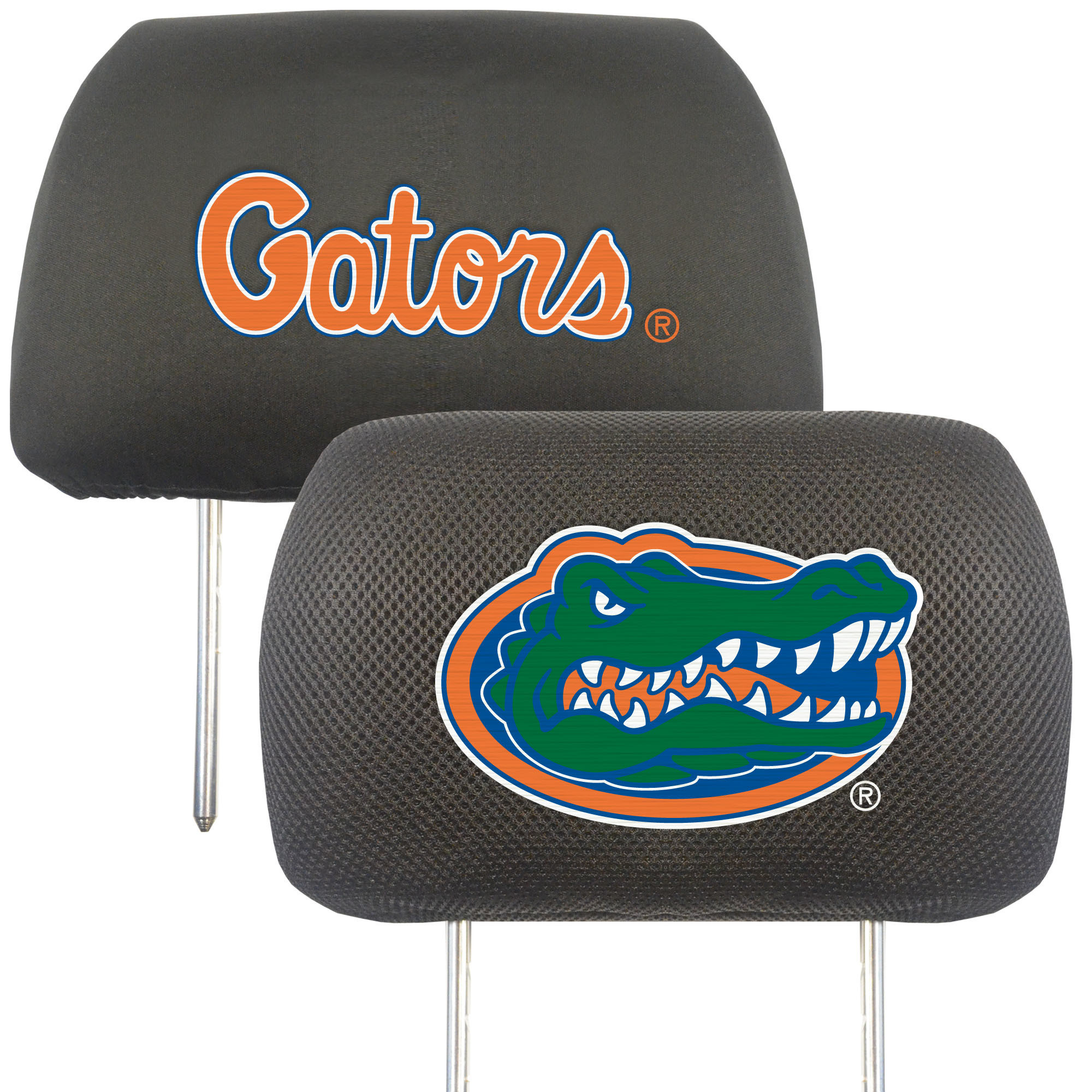 University of Florida Head Rest Cover (Set of 2)