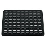 interdesign syncware kitchen sink protector mat large black - Kitchen Sink Protector