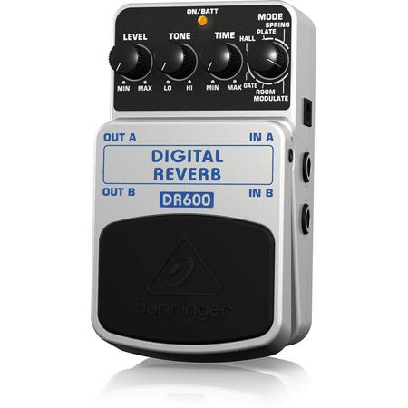 Behringer Digital Reverb DR600 Digital Stereo Reverb Effects