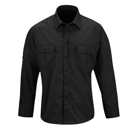 Propper Kinetic Long Sleeve Tactical Duty Army Uniform Button Down Shirt - (Army Wife Button)