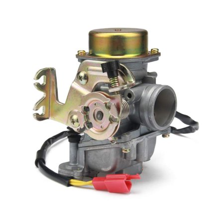 - Carburetor (24mm) compatible with Hammerhead GTS-150, KT, R-150, Rave, SS150 Super Sport go-kart engines. part # 6.000.024