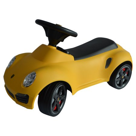 Costway Licensed Porsche 911 Kids Ride On Push Car Toddler Baby Walker Toy Yellow New