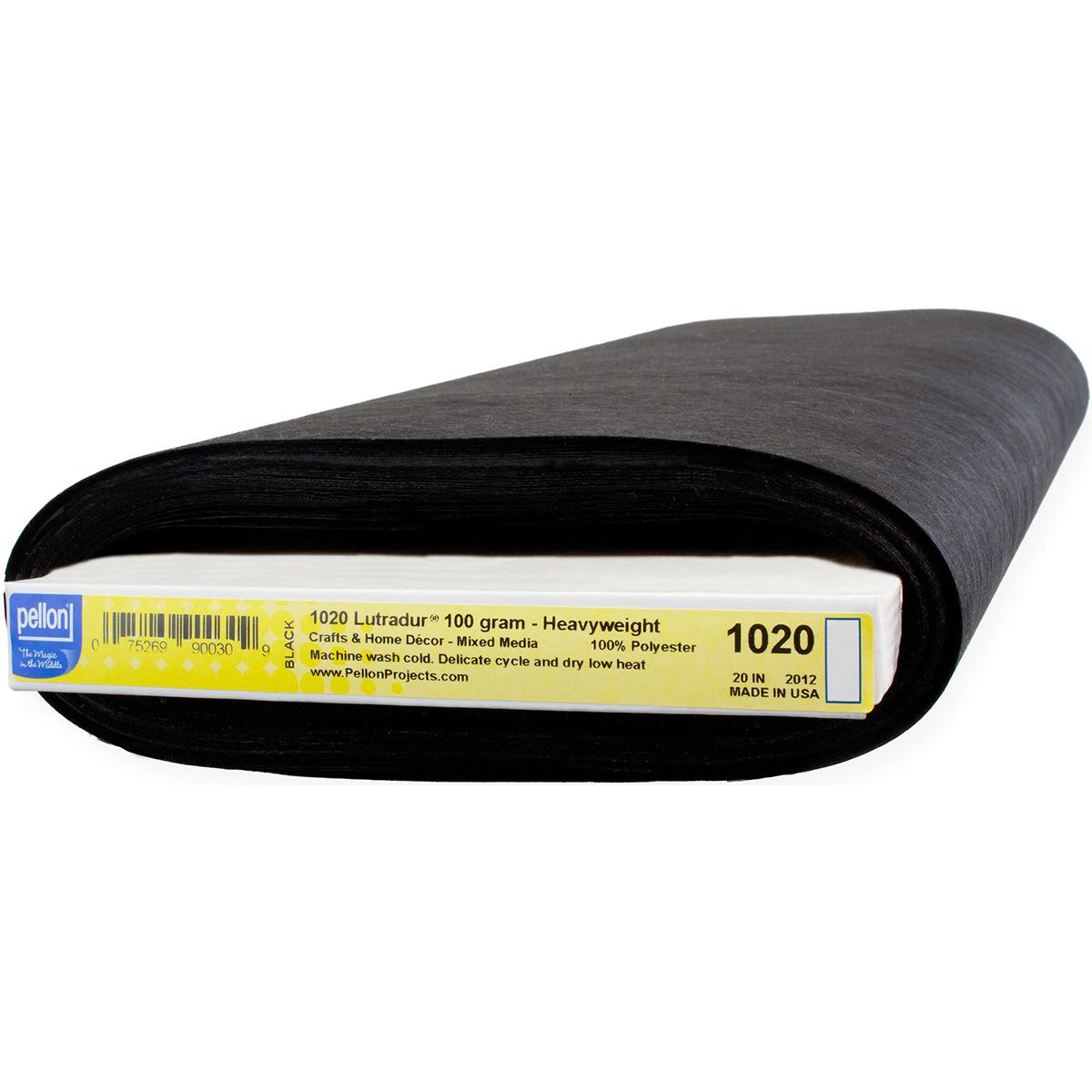 "Pellon Lutradur Interfacing 100 Grams-Black 20""X20yd FOB: MI"