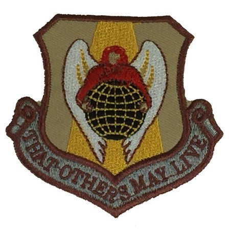 USAF US AIR FORCE AIR RESCUE SERVICE COMMAND SHIELD PATCH THAT OTHERS MAY - Air Command Subdued Patch