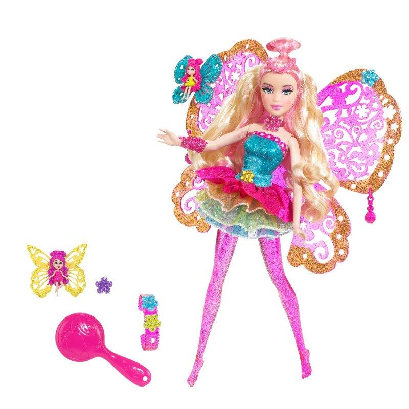 Barbie Fashion Fairy Pink Doll by