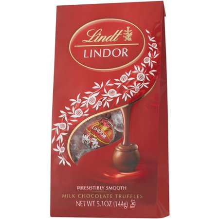 Lindt Lindor Milk Chocolate Truffles, 5.1 Oz. ()