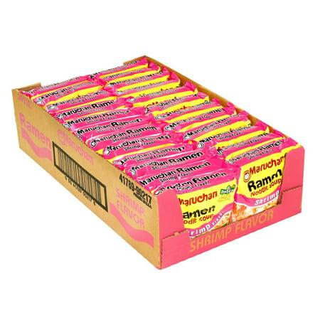 Shrimp Ramen Noodles - Product Of Maruchan Ramen, Shrimp Flavor , Count 24 (3 oz) - Spagetti/Noodle/Maccroni / Grab Varieties & Flavors