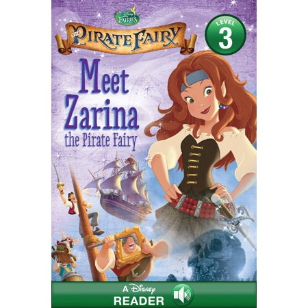 Tinker Bell and the Pirate Fairy: Meet Zarina the Pirate Fairy - eBook