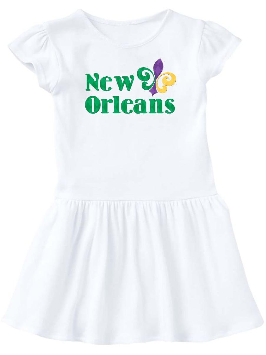 New Orleans Toddler Dress
