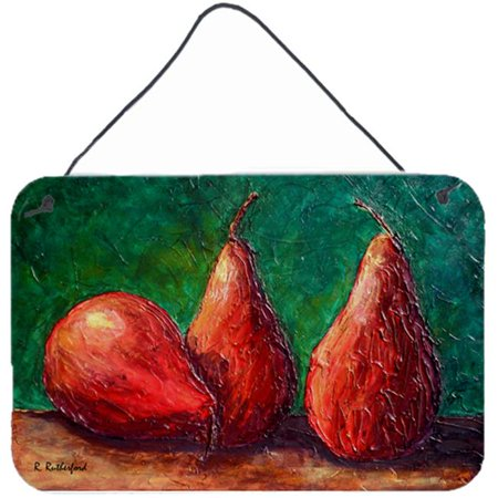 Carolines Treasures RDR2008DS812 8 x 12 in. Pears Aluminium Metal Wall or Door Hanging Print - image 1 of 1