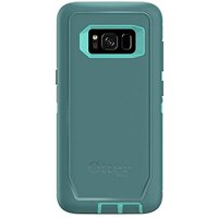 OtterBox Defender Series for Samsung Galaxy S8 Case Only - Aqua Mint Way (Aqua Mint/Mountain Range Green)