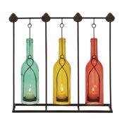 UMA Charming And Distinct Metal Glass Votive Holder