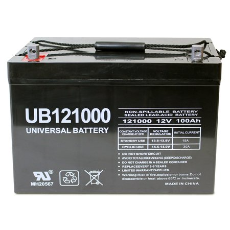 UB121000 12V 100Ah SLA battery 12 VOLT (Best 12 Volt Golf Cart Batteries)