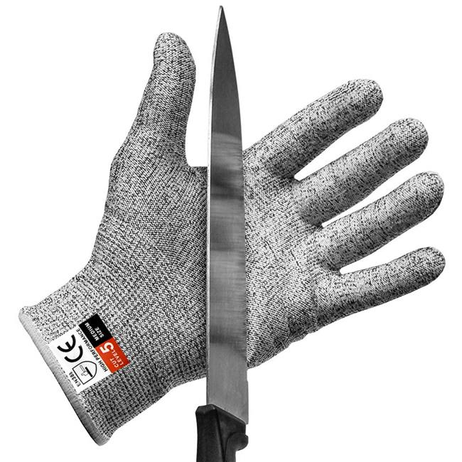 High Performance Level 5 Protection Food Grade. NoCry Cut Resistant Gloves