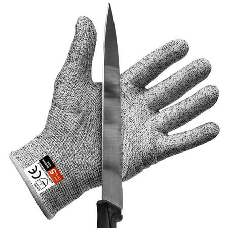 Cut Resistant Gloves Food Grade Level 5 Protection Safety Kitchen Cuts