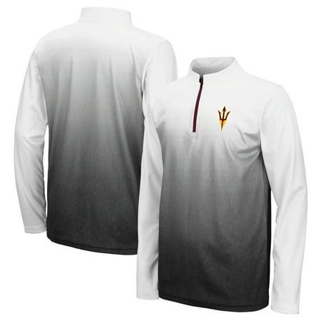 Arizona State Sun Devils Colosseum Youth Black Magic Quarter-Zip Jacket (Sun Devil Jacket)