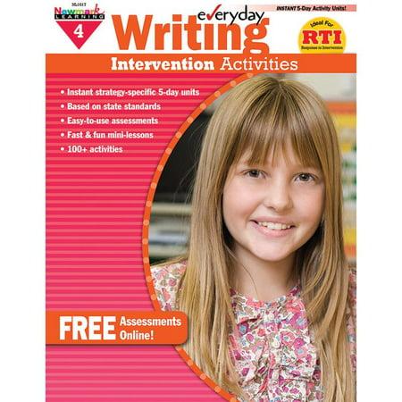 Everyday Writing Intervention Activities Grade 4