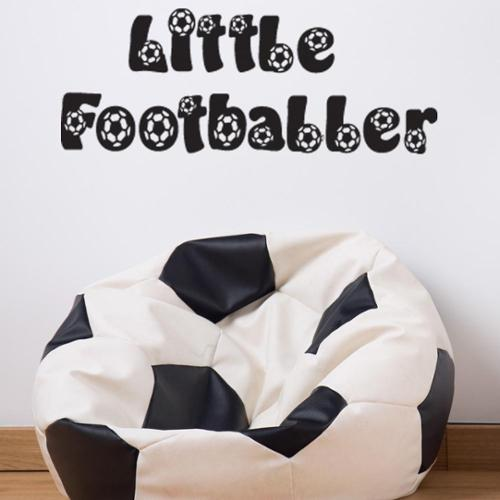 Style and Apply Little Footballer Wall Decal Vinyl Art Home Decor