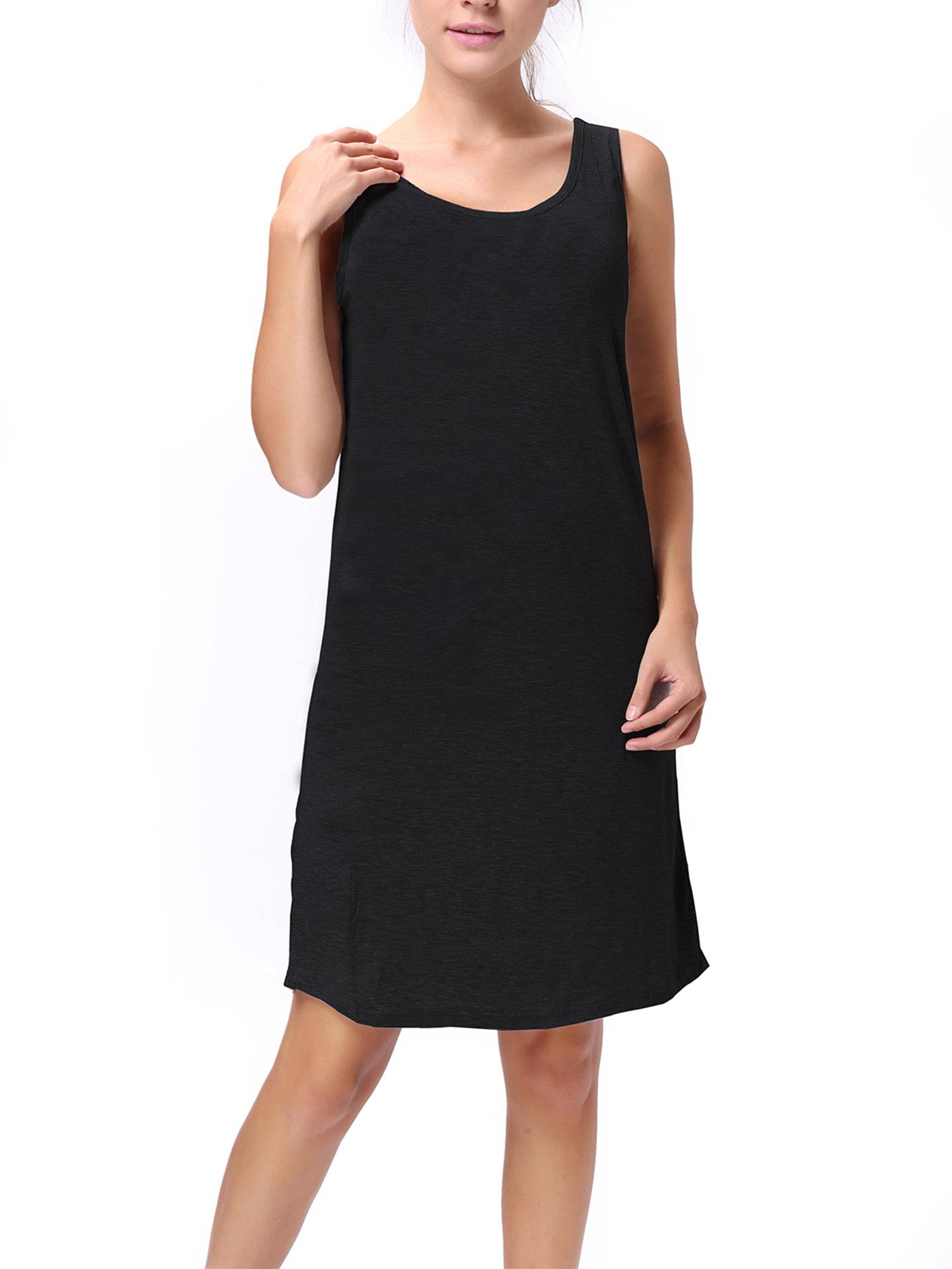 Sayfut Sayfut Womens Loose Tank Tops Long Dresses Casual