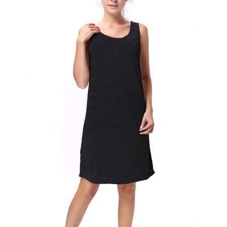 sayfut  sayfut women's loose tank tops long dresses
