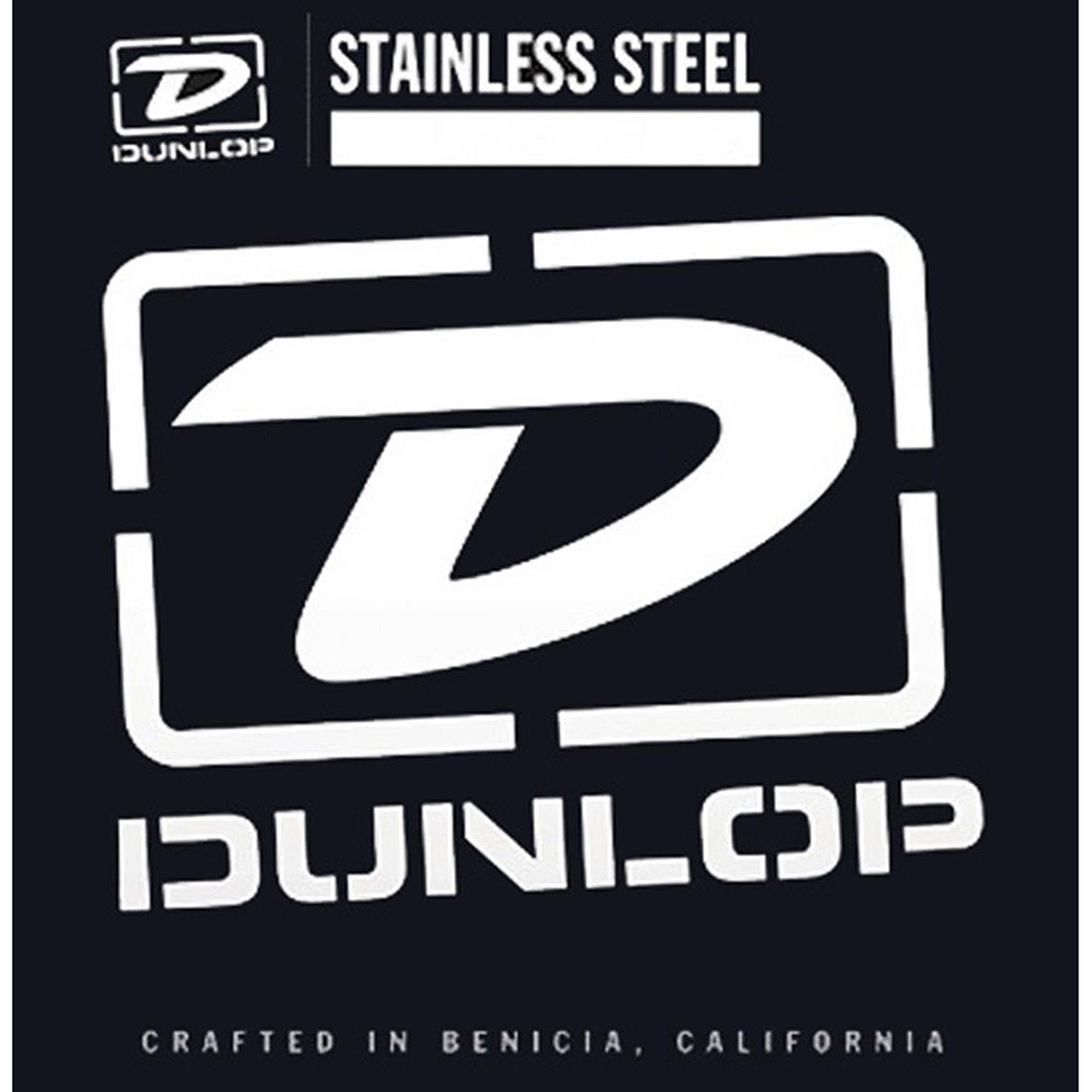 Dunlop DBS45105 Medium Stainless Steel Bass Guitar 4 String Set .045-.105 by Dunlop