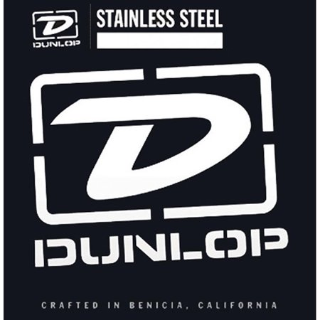 Dunlop - DBS45105 - Medium Stainless Steel Bass Guitar 4 String Set -