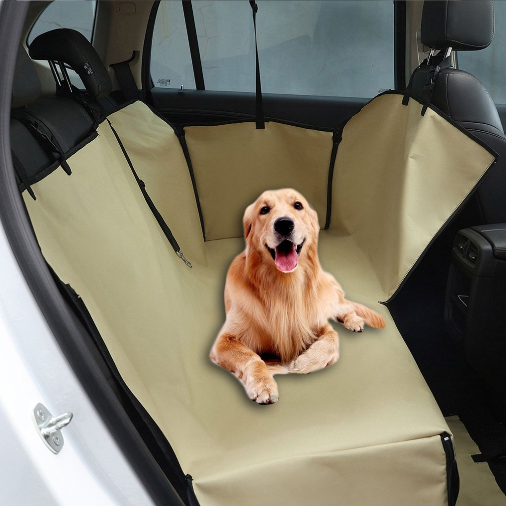 Double Layers Oxford Fabric Waterproof Pet Car Seat Cover Dog Hammock Protector Back Mat Carriers Accessories