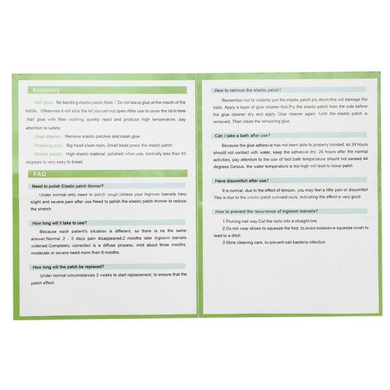 6Pcs/Set Toenail Correction Patch Dead Skin Pliers Ingrown Acronyx  Corrector Pedicure Tool, Toenail Recover Tool, Pedicure Tool
