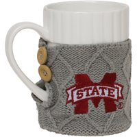 Mississippi State Bulldogs Cable Knit Sweater Coffee Mug