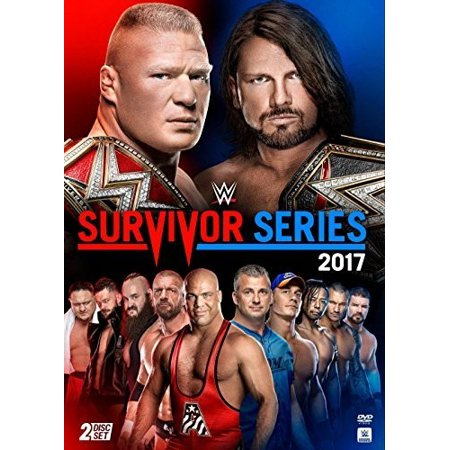 WWE: Survivor Series 2017 (DVD) - Childrens Halloween Tv Shows 2017