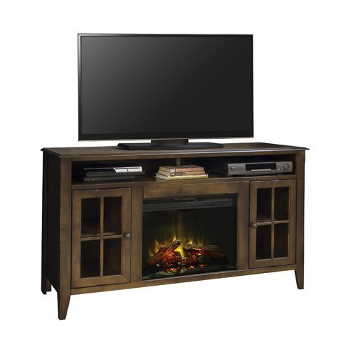 Darby Home Co Delron TV Stand for TVs up to 58'' with Fireplace