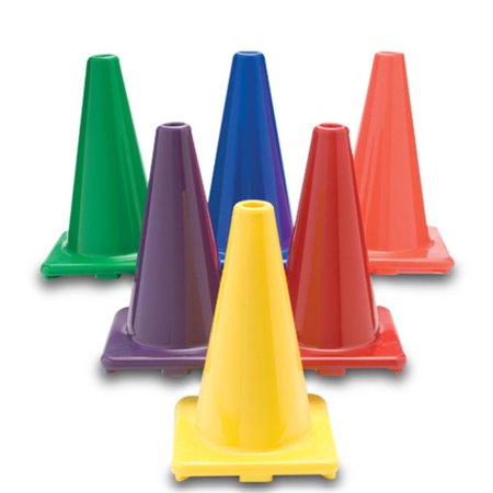 Color My Class 18 Inch Game Cones Set of 6