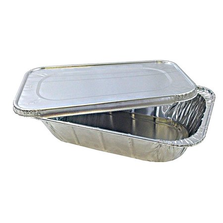 Quarter Size Aluminum Foil Steam Table Pan With Lid