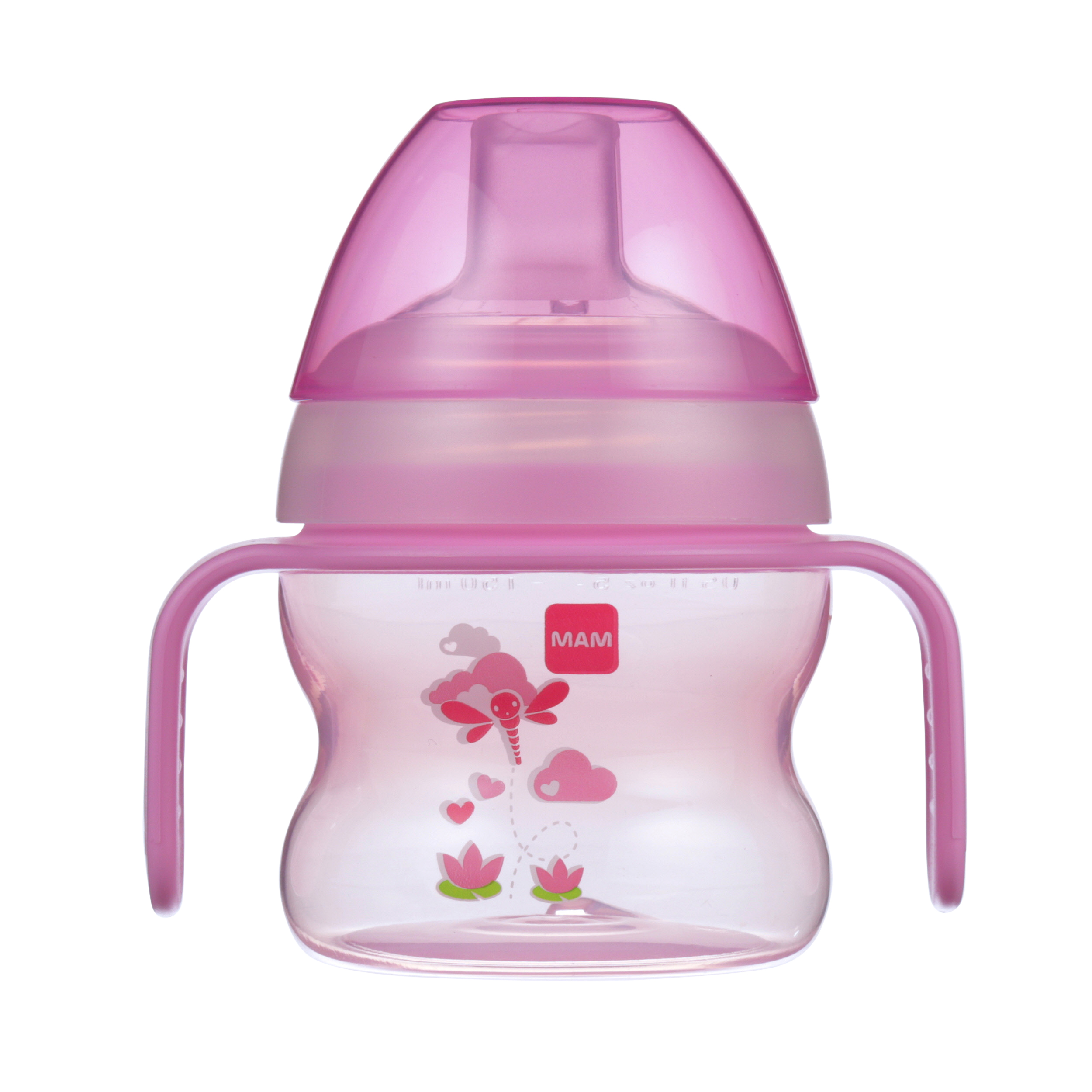 MAM Starter Cup with extra soft spout, 5 oz, 1-Count, Girl by MAM