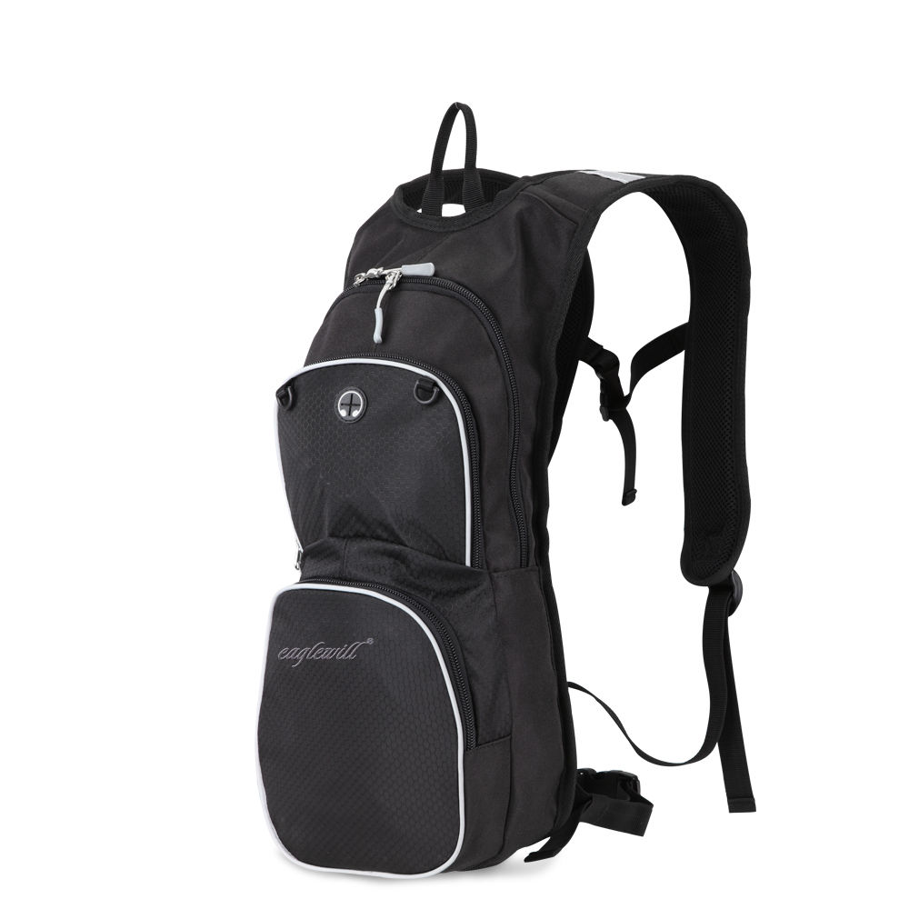 Cycling Bicycle Bike Backpack Hydration Pack Bag 20L For Camping Running Hiking-Black