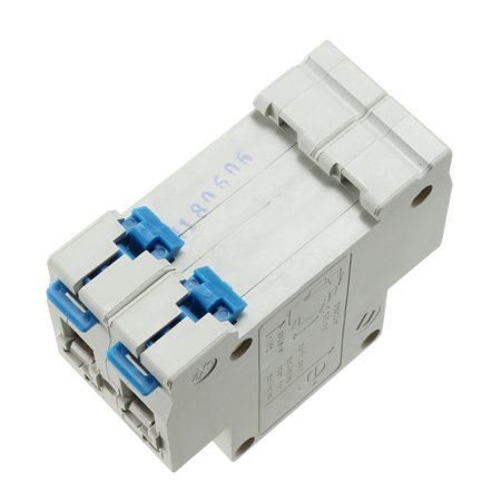 2 Poles 6A 400V Low-voltage Miniature Circuit Breaker Din Rail Mount DZ47-63 C6 - image 2 of 3