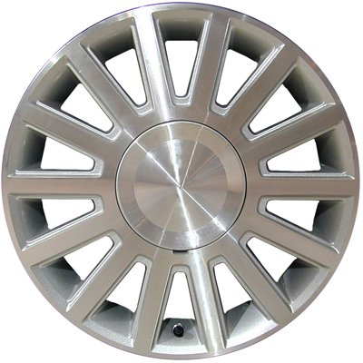 Wheel for 2003-2004 Lincoln Town Car 17x7 Machined Refinished 17 Inch Rim
