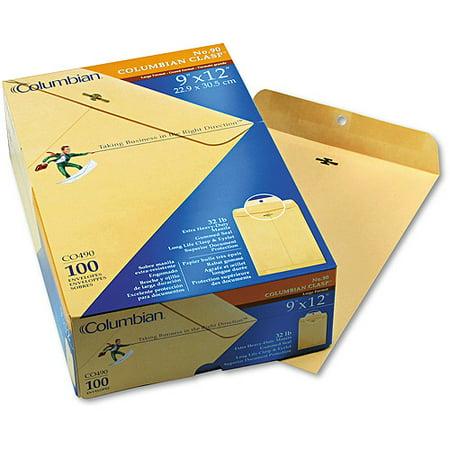 Columbian Jumbo Envelope - Columbian Clasp Envelope, Side Seam, 11.5