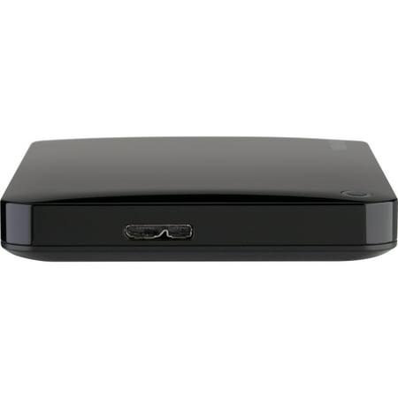 Toshiba Canvio Connect II HDTC805XK3A1 500 GB External Hard Drive - USB 3 0  - 5400rpm - 8 MB Buffer - Portable - Black