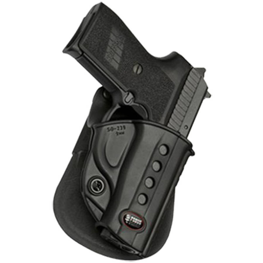 Fobus SG239RB Roto Evolution Belt Holster, Black, Plastic by FOBUS USA